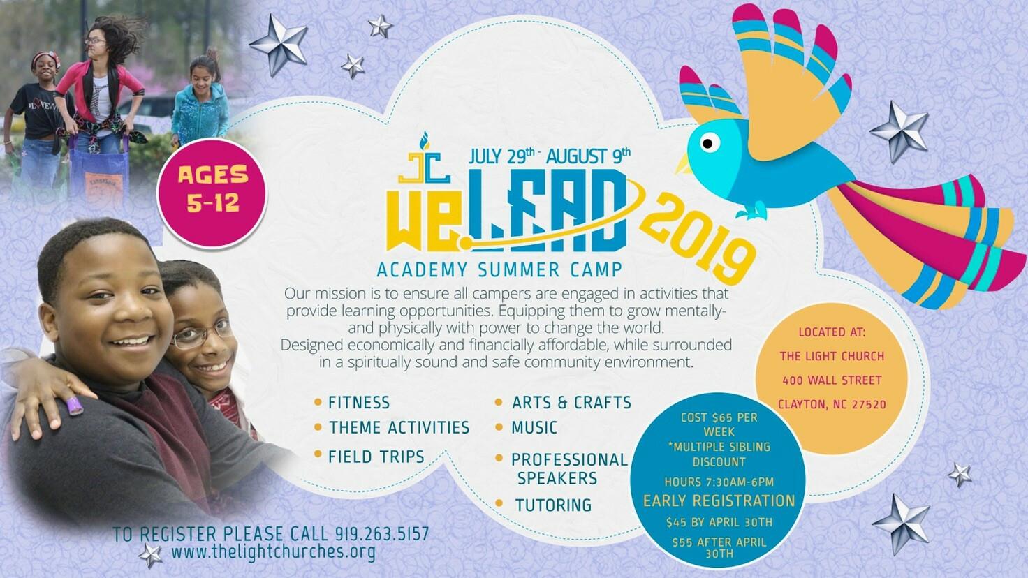 WeLead Academy Summer Camp